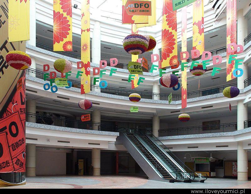 najwieksze centrum handlowe swiata, largest shopping mall, dongguan, new south china mall