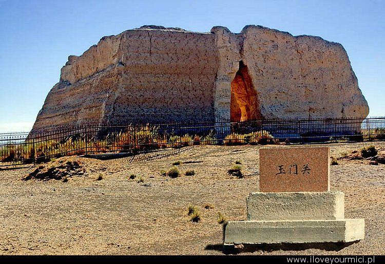 yumen pass, nefrytowe wrota, jedwabny szlak, silk road, chiny, china, desert