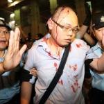 hong kong protest mong kok violence ilym